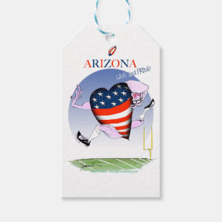 arizona loud and proud, tony fernandes pack of gift tags