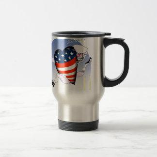 arizona loud and proud, tony fernandes travel mug