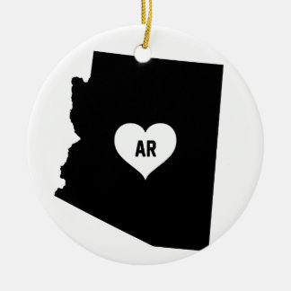 Arizona Love Ceramic Ornament