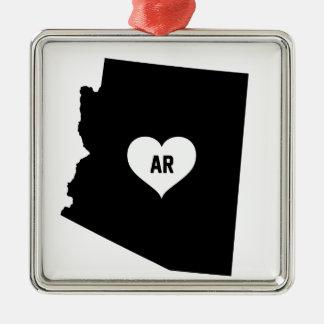 Arizona Love Metal Ornament