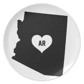 Arizona Love Plate