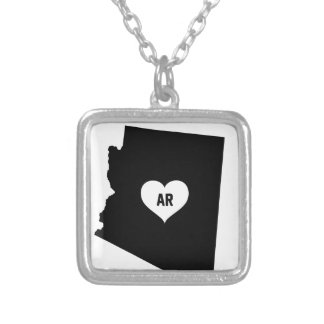 Arizona Love Silver Plated Necklace
