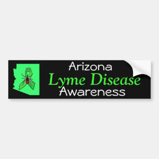 Arizona Lyme Disease Awareness Bumper Sticker