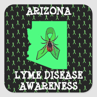 Arizona Lyme Disease Awareness StickerS