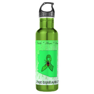 Arizona Lyme Disease Awareness Water Bottle