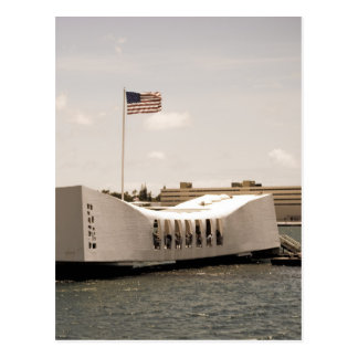 Arizona Memorial Pearl Harbor Postcard