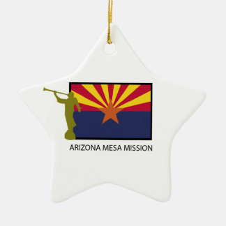 ARIZONA MESA MISSION LDS CTR CERAMIC STAR ORNAMENT