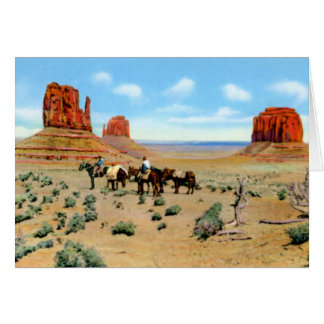 Arizona Monument Valley Card