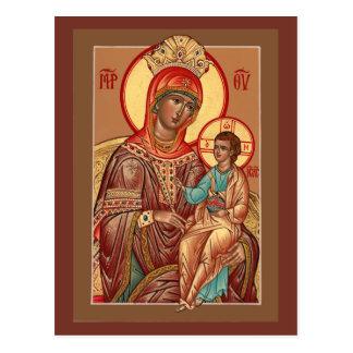 Arizona Mother of God Prayer Card Postcards