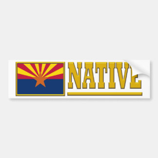 Arizona Native Bumper Sticker