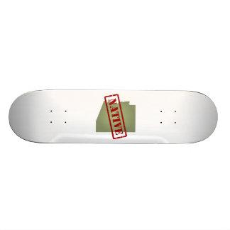 Arizona Native with Arizona Map Skateboard Deck