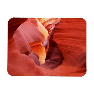 Arizona, Navajo Nation, Lower Antelope Canyon, Rectangular Photo Magnet