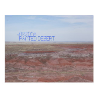 Arizona Painted Desert Postcard