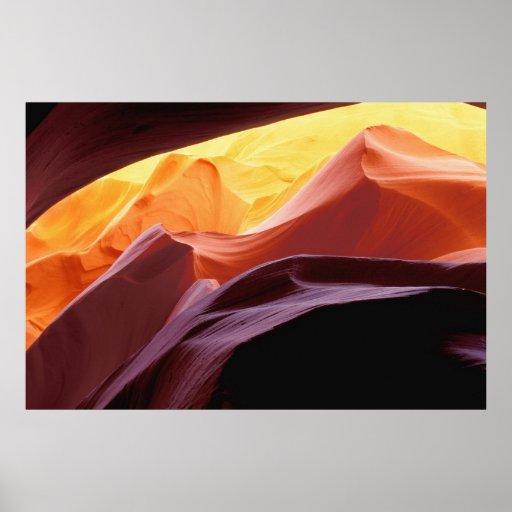 Arizona, Paria canyon | Sandstone Formations Poster