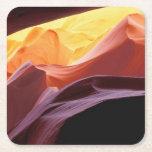 Arizona, Paria canyon | Sandstone Formations Square Paper Coaster