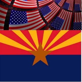 Arizona Photo Sculpture Magnet