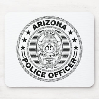 Arizona Police Officer Mouse Pad