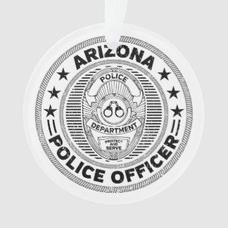 Arizona Police Officer Ornament