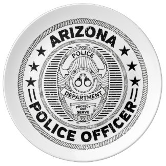 Arizona Police Officer Plate