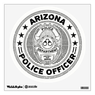 Arizona Police Officer Wall Sticker