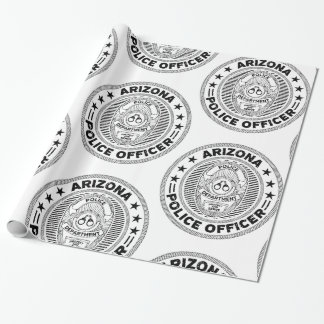 Arizona Police Officer Wrapping Paper