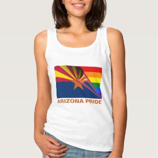 Arizona Pride LGBTQ Rainbow Flag Tank Top