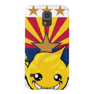 Arizona Pride Smiley Galaxy S5 Cover