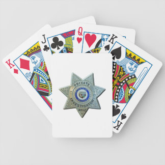 Arizona Private Investigator Bicycle Playing Cards