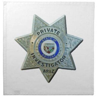 Arizona Private Investigator Cloth Napkins
