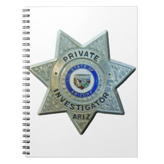 Arizona Private Investigator Notebooks