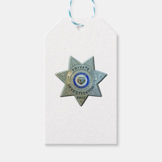 Arizona Private Investigator Pack Of Gift Tags