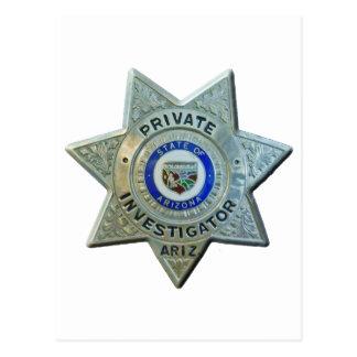 Arizona Private Investigator Postcard