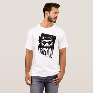 Arizona Raccoon tshirt