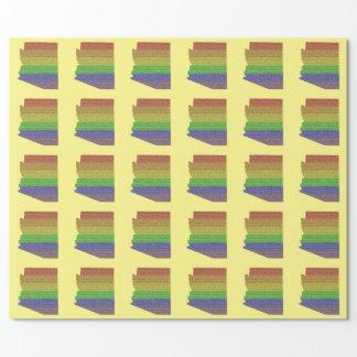 Arizona Rainbow Pride Flag Mosaic