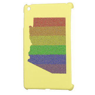 Arizona Rainbow Pride Flag Mosaic iPad Mini Case