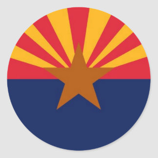 Arizona Round Sticker