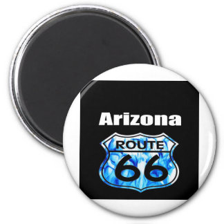 Arizona Route 66 2 Inch Round Magnet