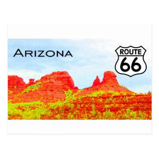 Arizona Route 66 Landscape Postcard