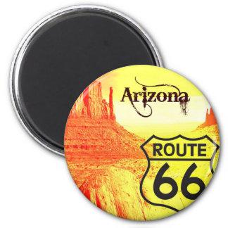 Arizona Route 66 Refrigerator Magnet