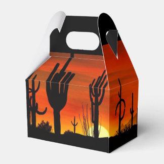 Arizona Saguaro Cactus - Gable Favor Box