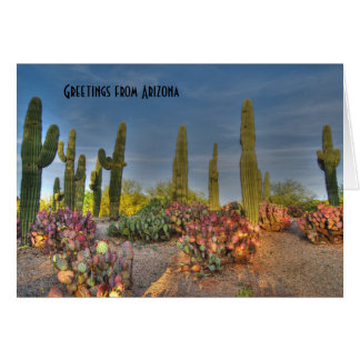 Arizona Saguaro Greeting Card