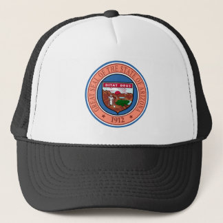 Arizona seal united states america flag symbol rep trucker hat