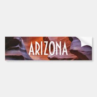 Arizona Slot Canyons Bumper Sticker