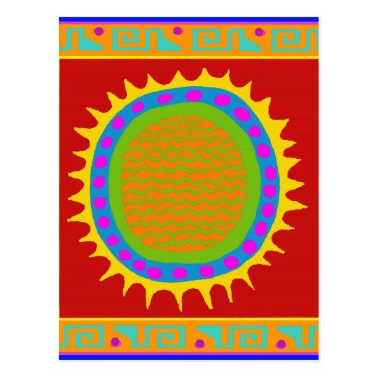Arizona Southwest Sun Postcard