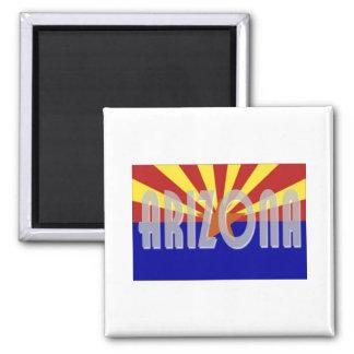 Arizona Square Magnet