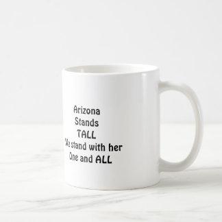 Arizona StandsTALL Classic White Coffee Mug