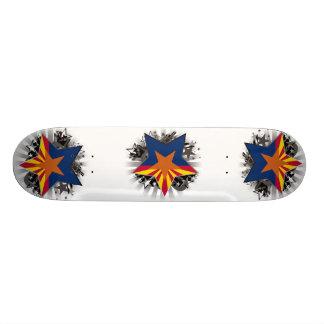 Arizona Star Skateboard Deck