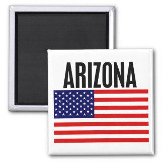 Arizona, Stars and Stripes Magnet