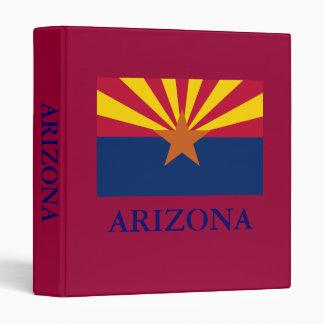 Arizona State Flag 1in Binder