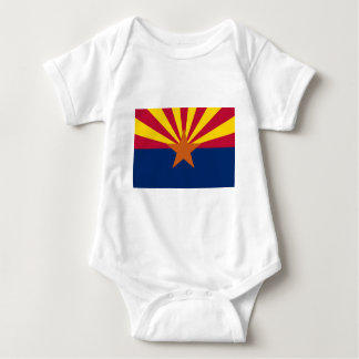 Arizona State Flag Baby Bodysuit